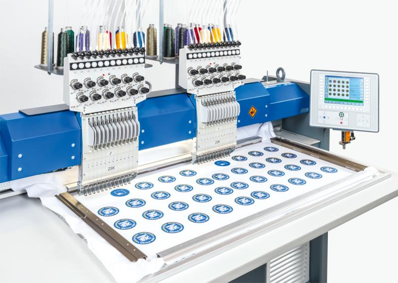 ZSK EMBROIDERY MACHINE 2